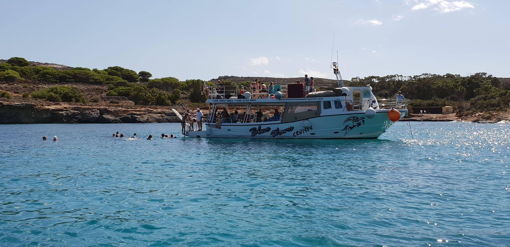 Santa Marija Bay at Comino Island