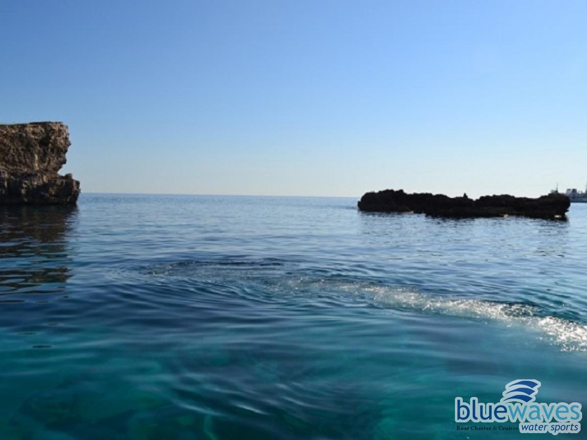Ride to Comino Island