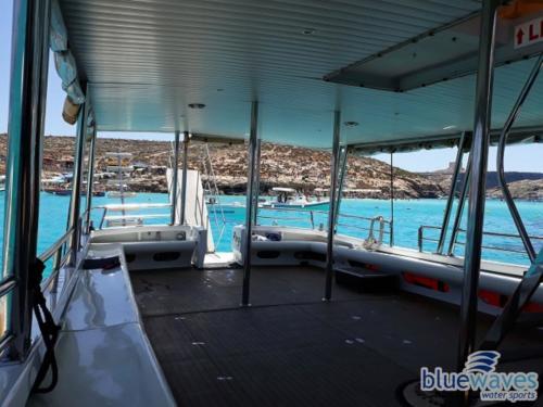 Boat trip interior