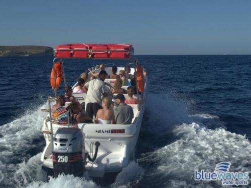 Speedboat trips to Comino